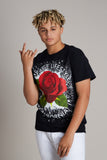 Rose Splatter Tee