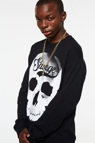 Savage Skull Long Sleeve