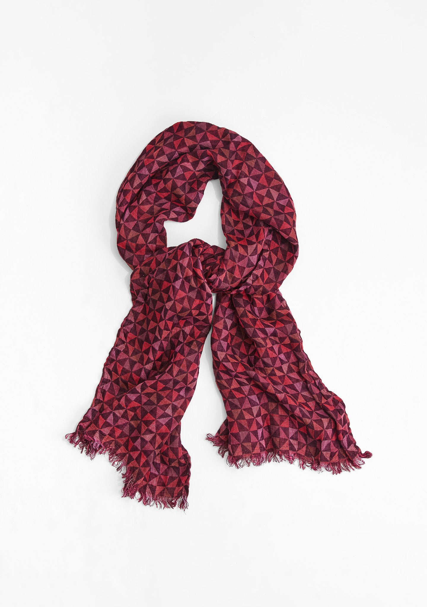 edgy scarf multi