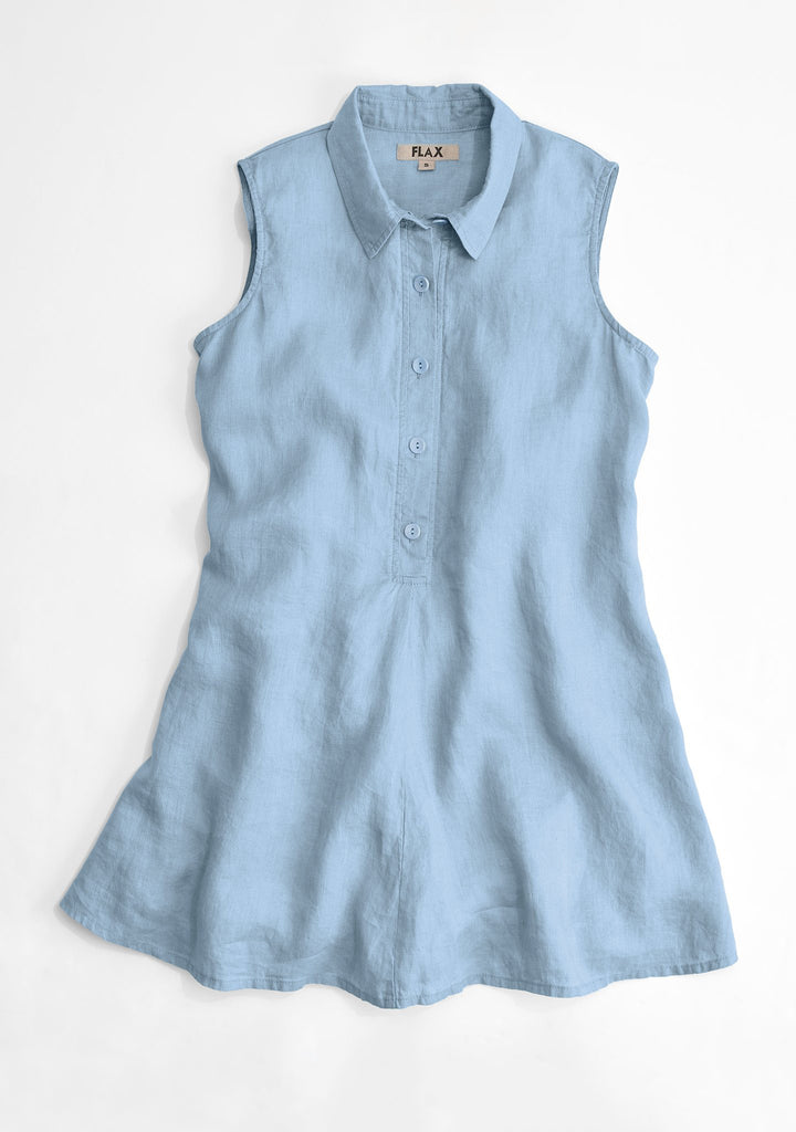 speakeasy sleeveless blue