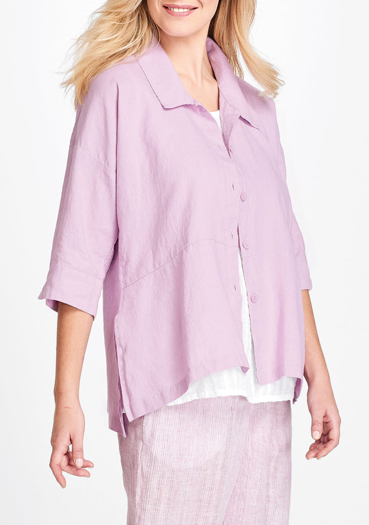 artful blouse purple