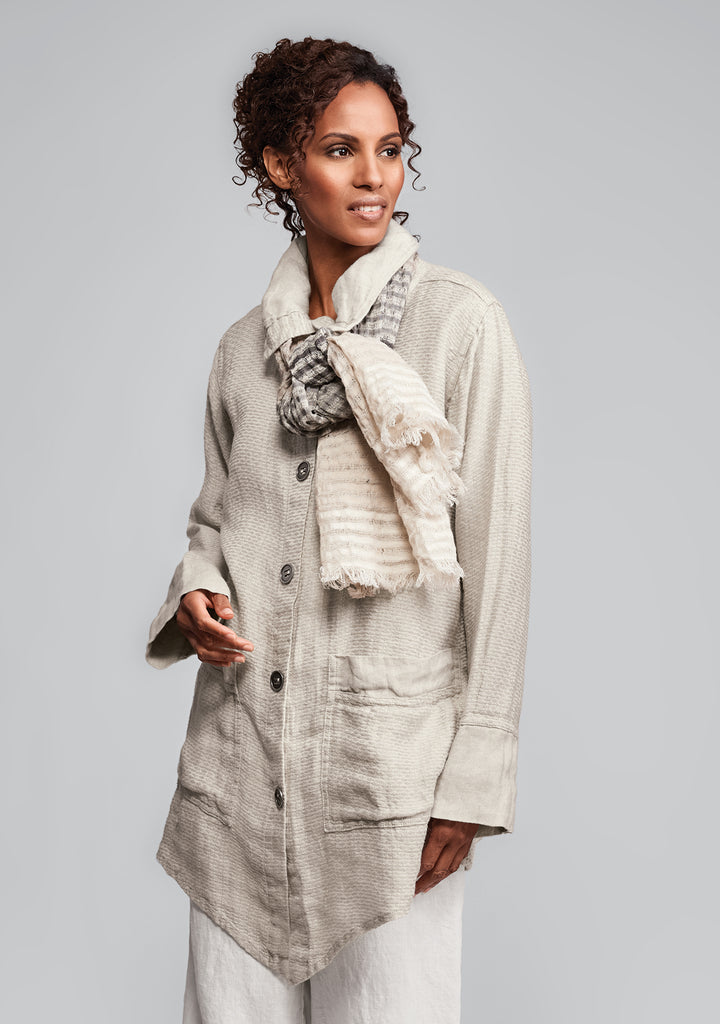 artisan jacket linen jacket natural