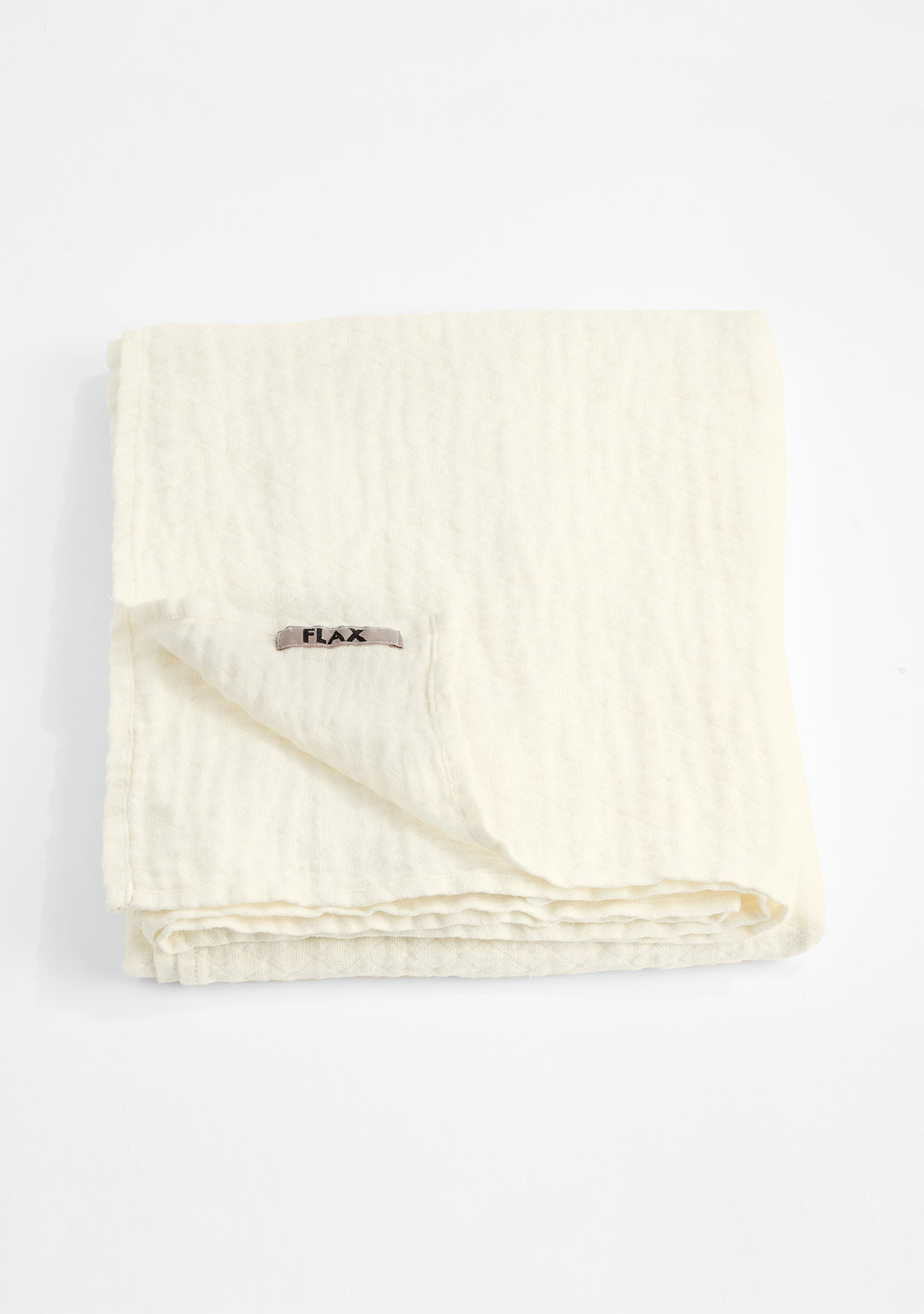 throw blanket linen blanket white