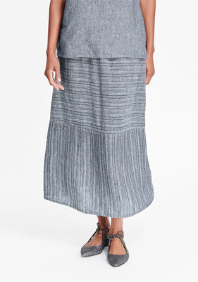 breezy skirt blue