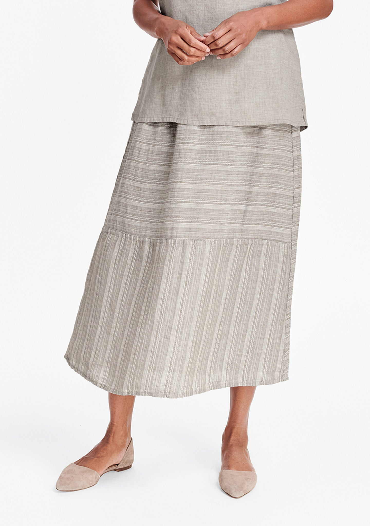 breezy skirt natural
