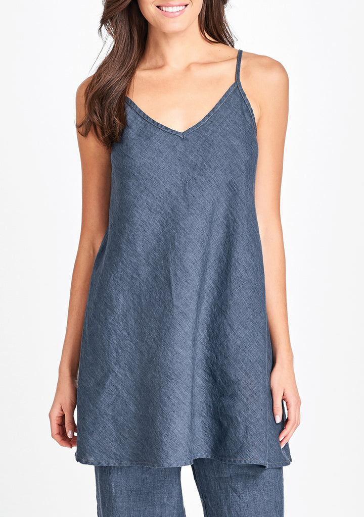cami tunic blue