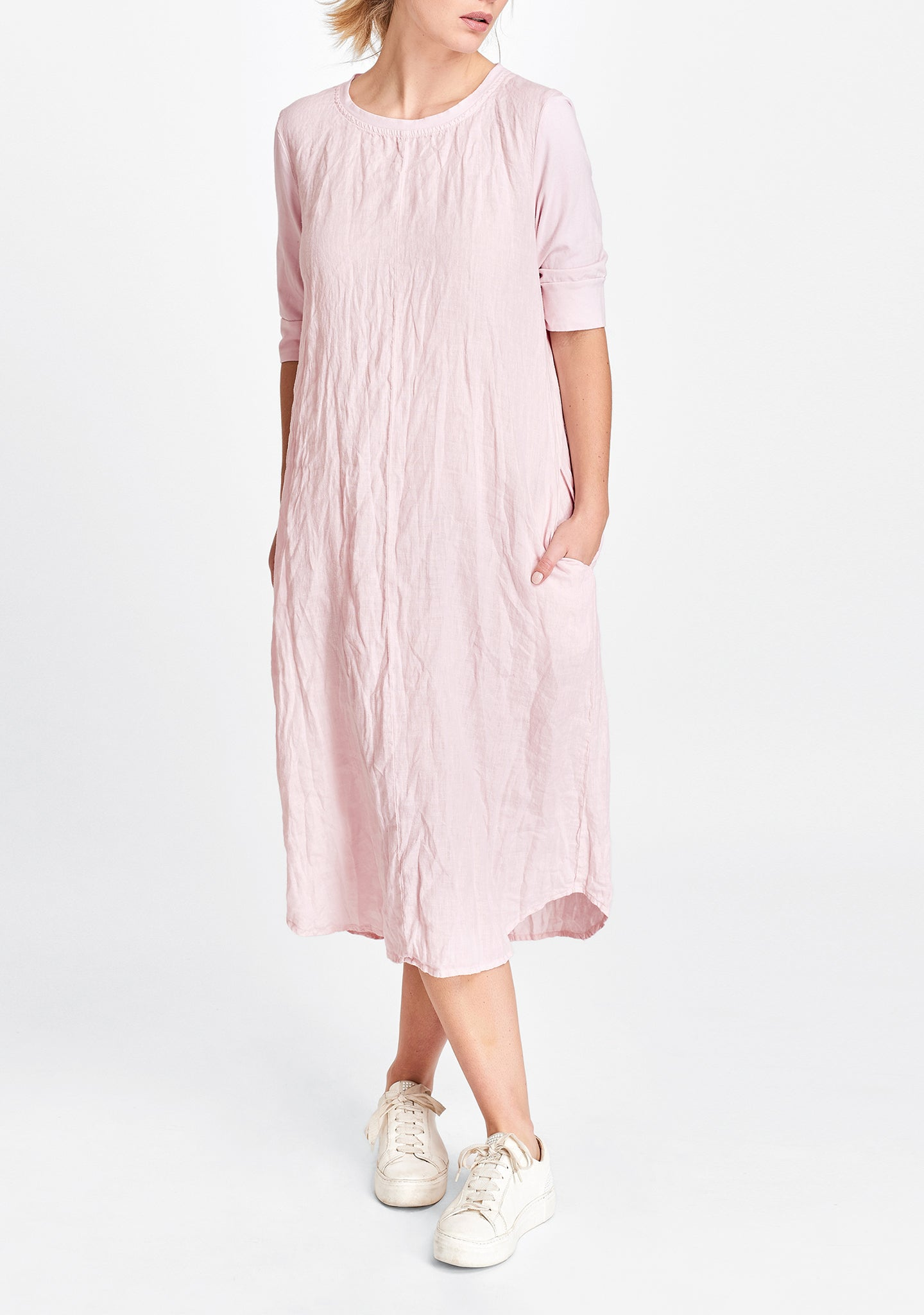 horizon dress pink