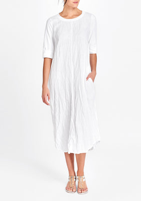 horizon dress white