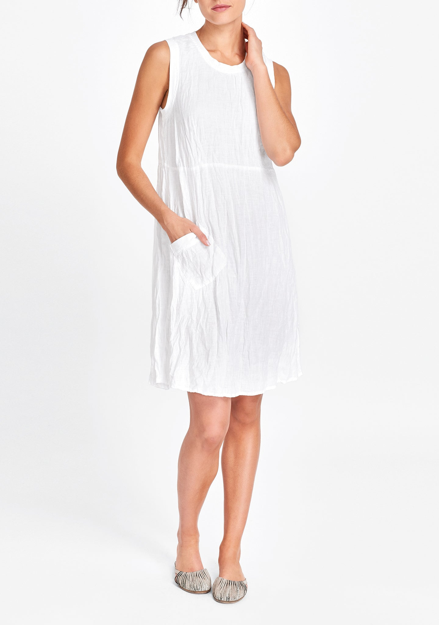work/play dress white