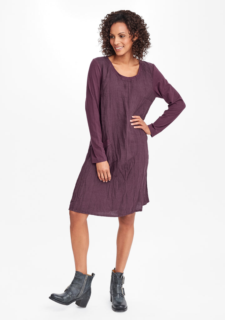 city dress purple