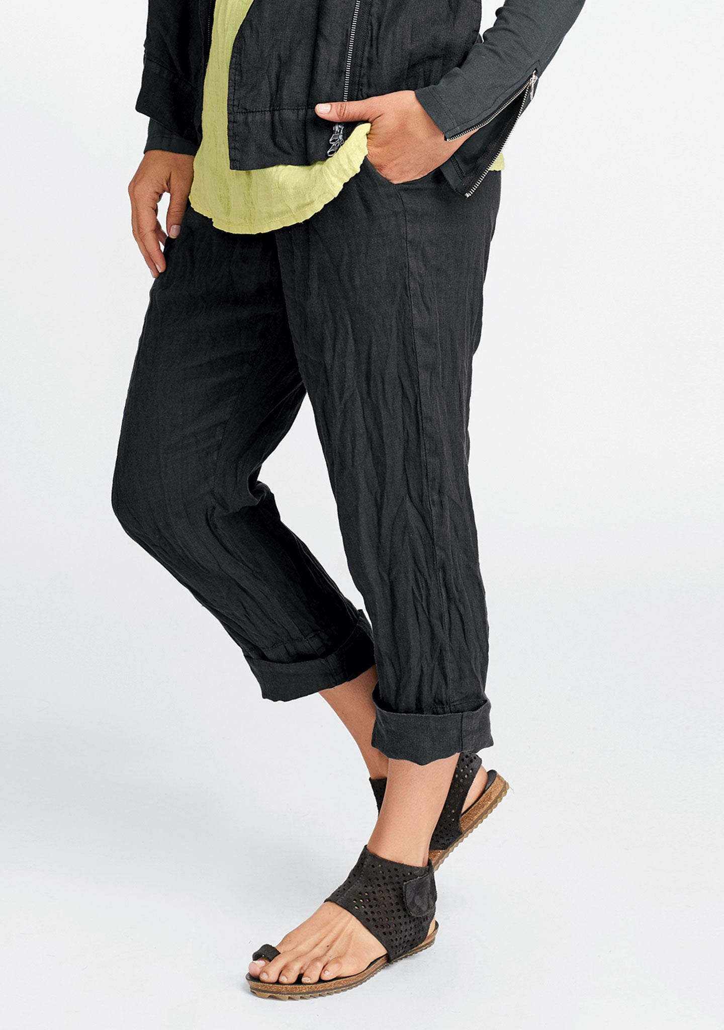 cut above pant black