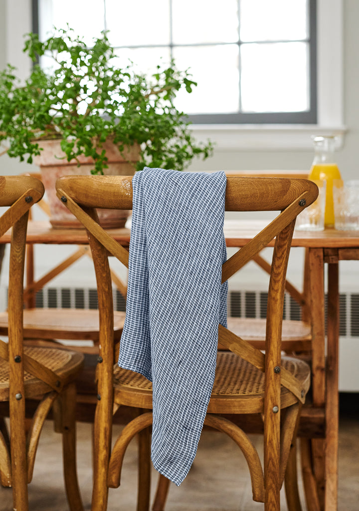 linen towel linen tea towels blue