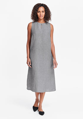 keyhole dress pewter