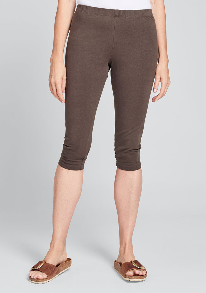 leggings cotton leggings brown