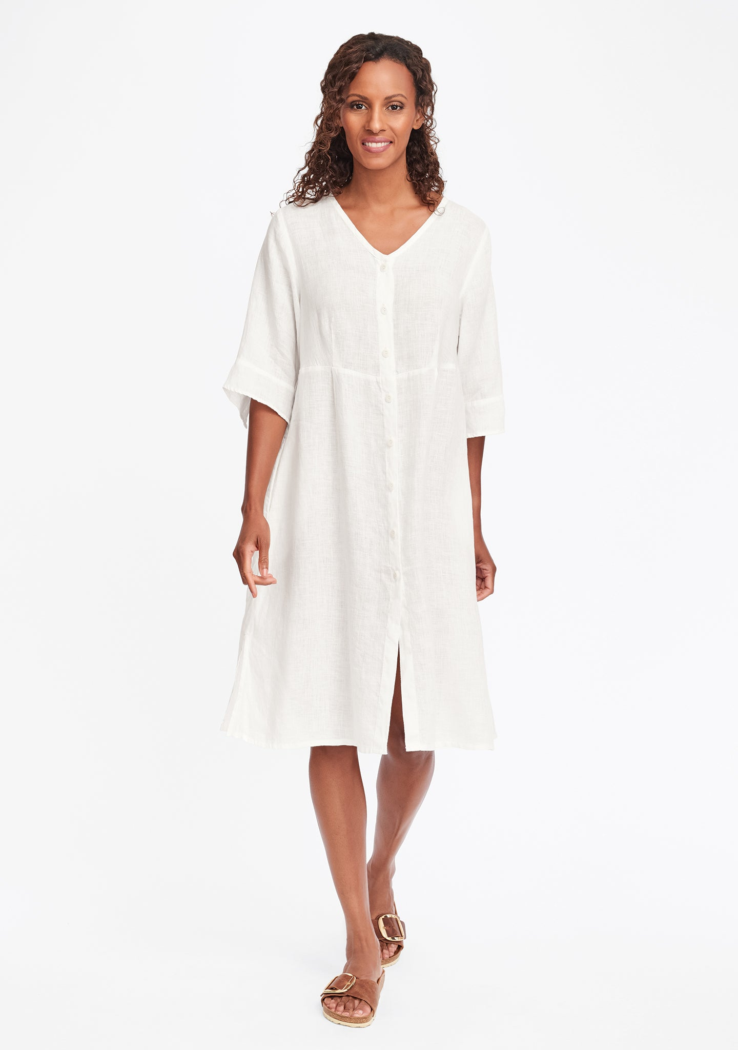 night duster white