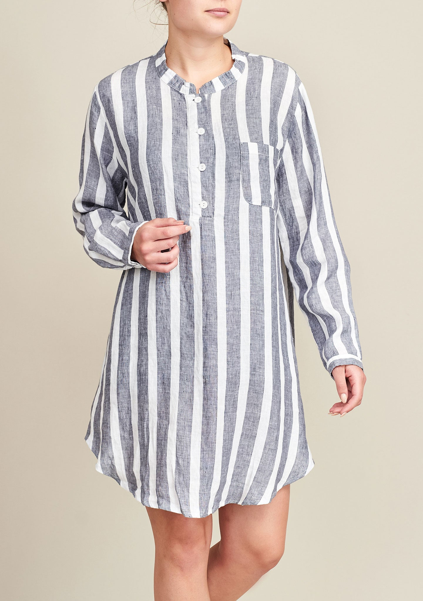nightshirt blue