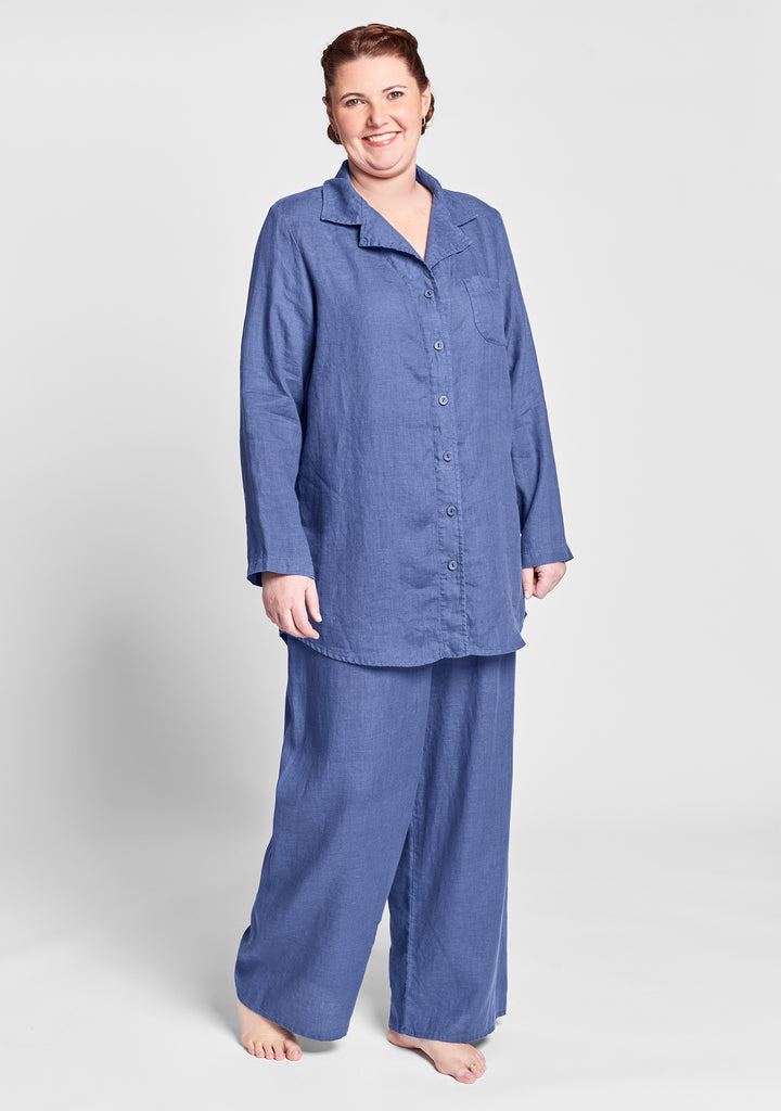 pajama set blue