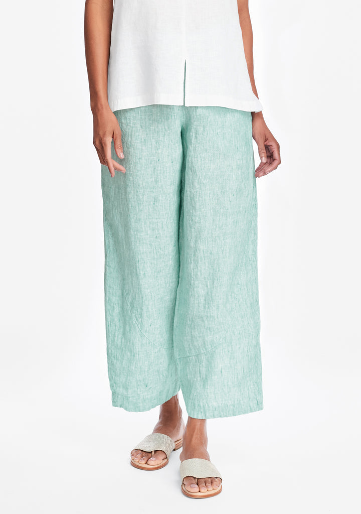 pants for all linen pants green