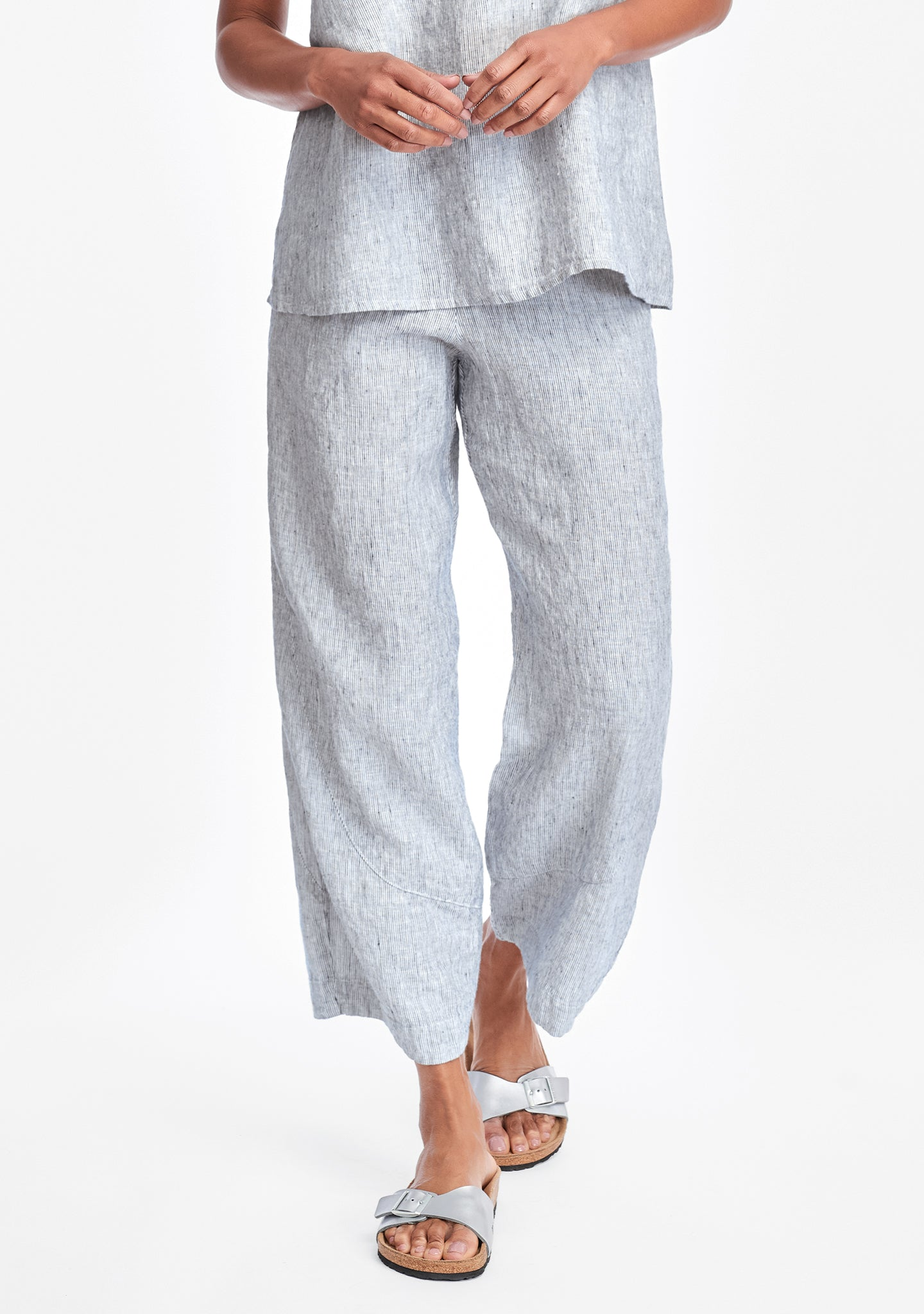pants for all linen pants blue
