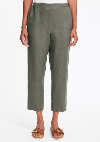 purchase cheap search for clearance half off Linen Cropped Pants For Women - ShopFlax.com – FLAX