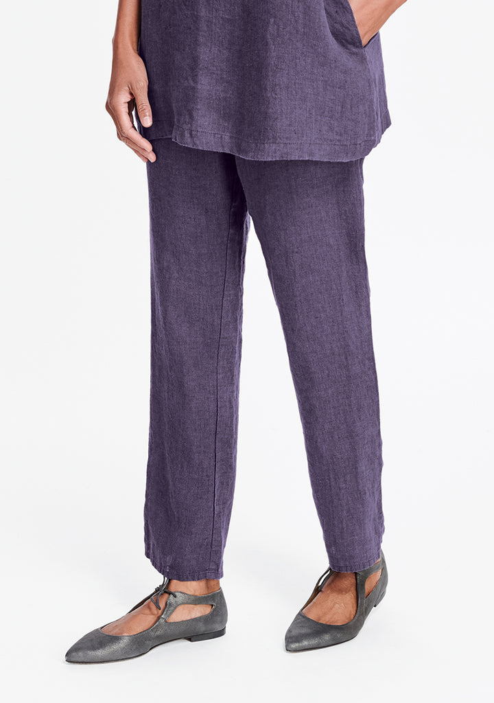 pocketed social pant purple