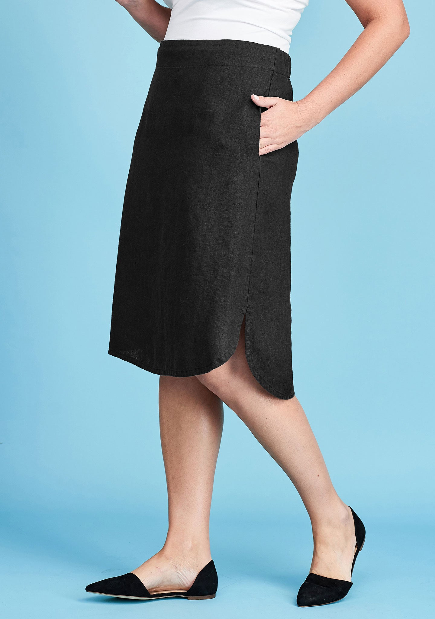 radiant skirt black