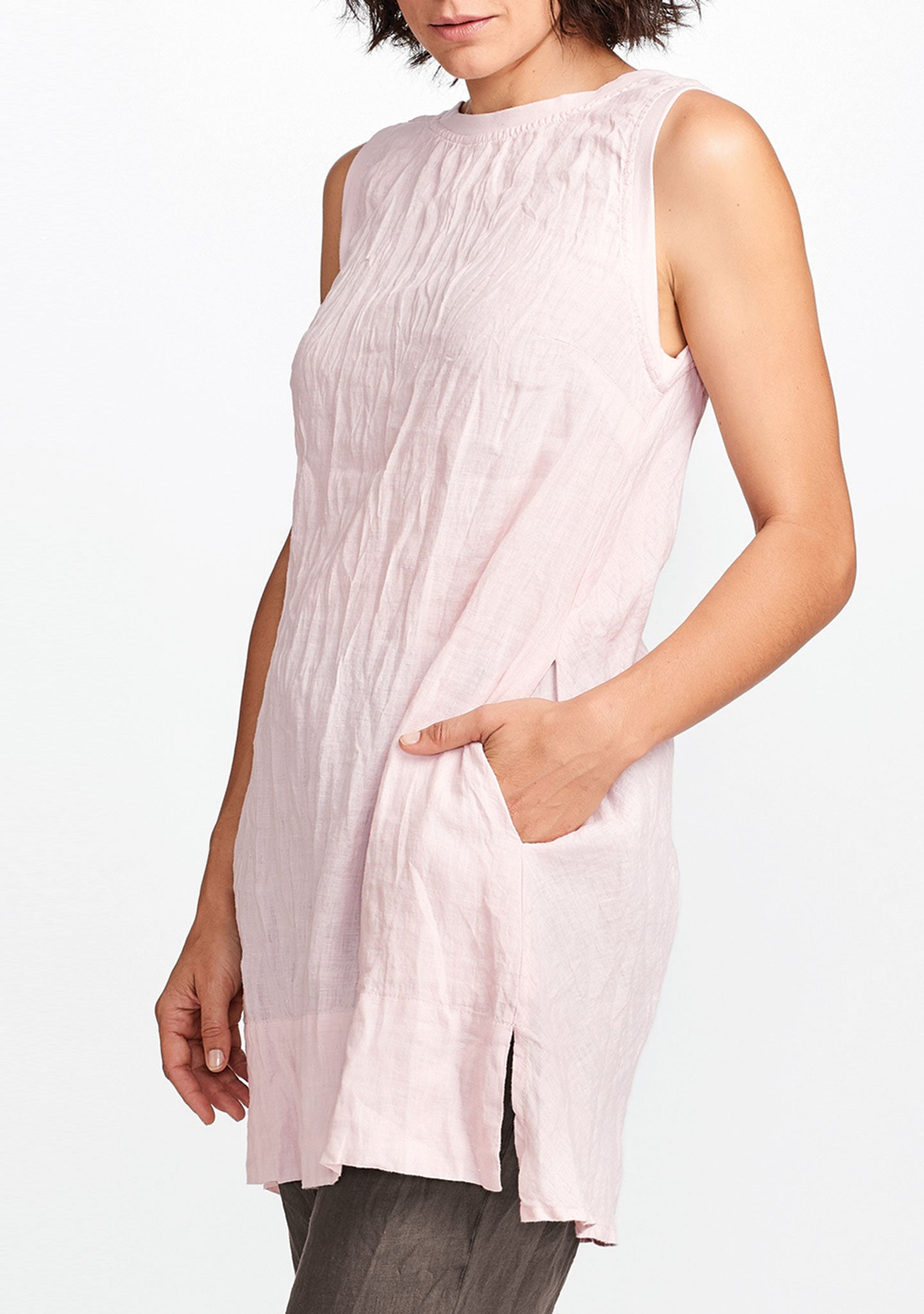 roadie tunic pink