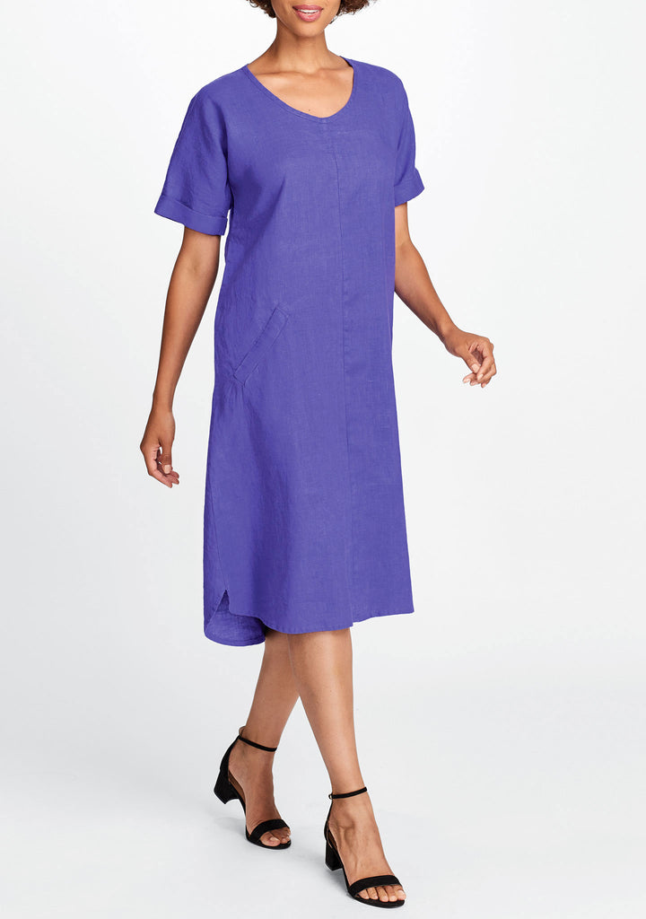 sage dress purple