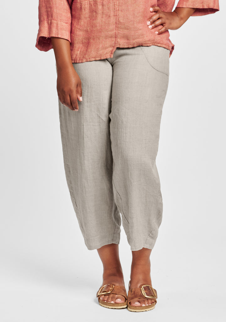 seamly pant linen pants natural