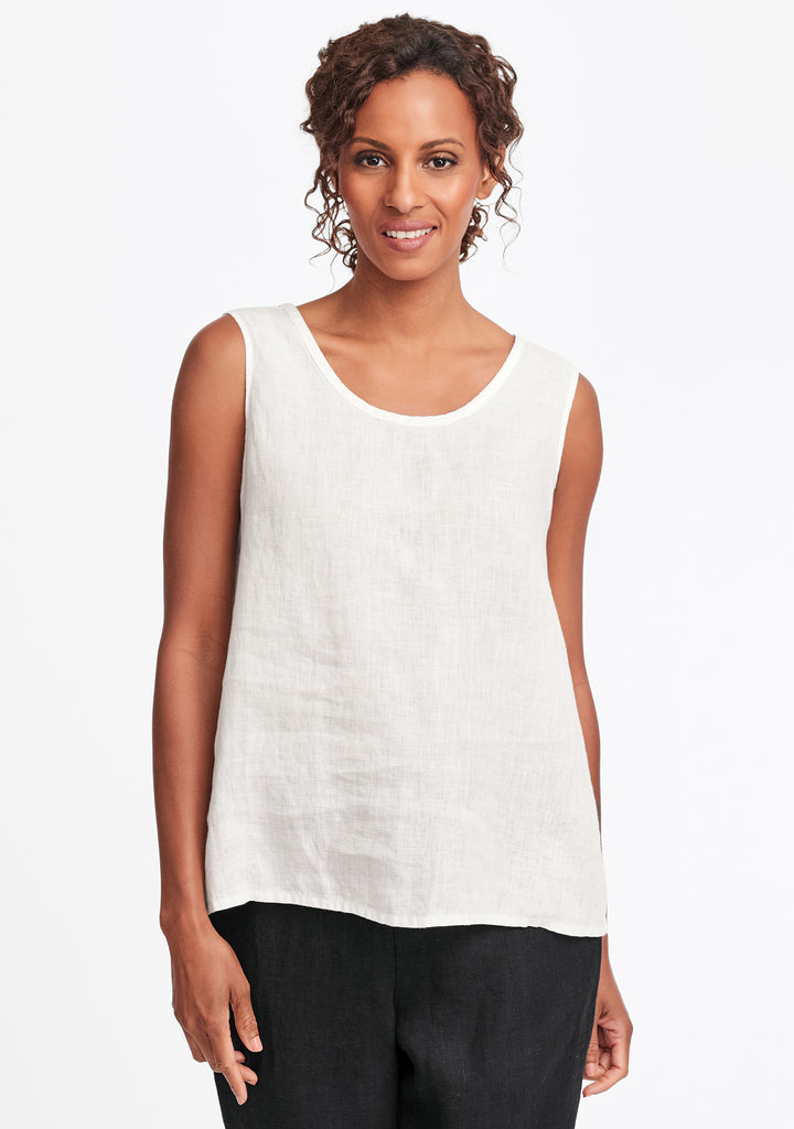 simple cami white