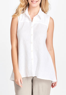 skyline blouse white