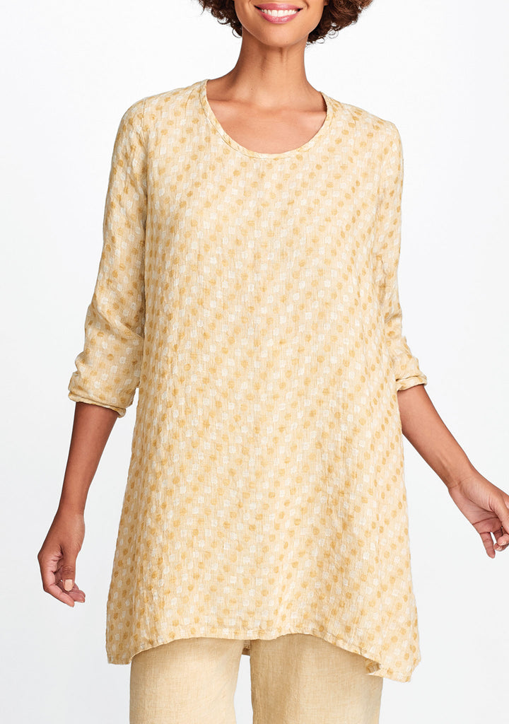 social tunic yellow