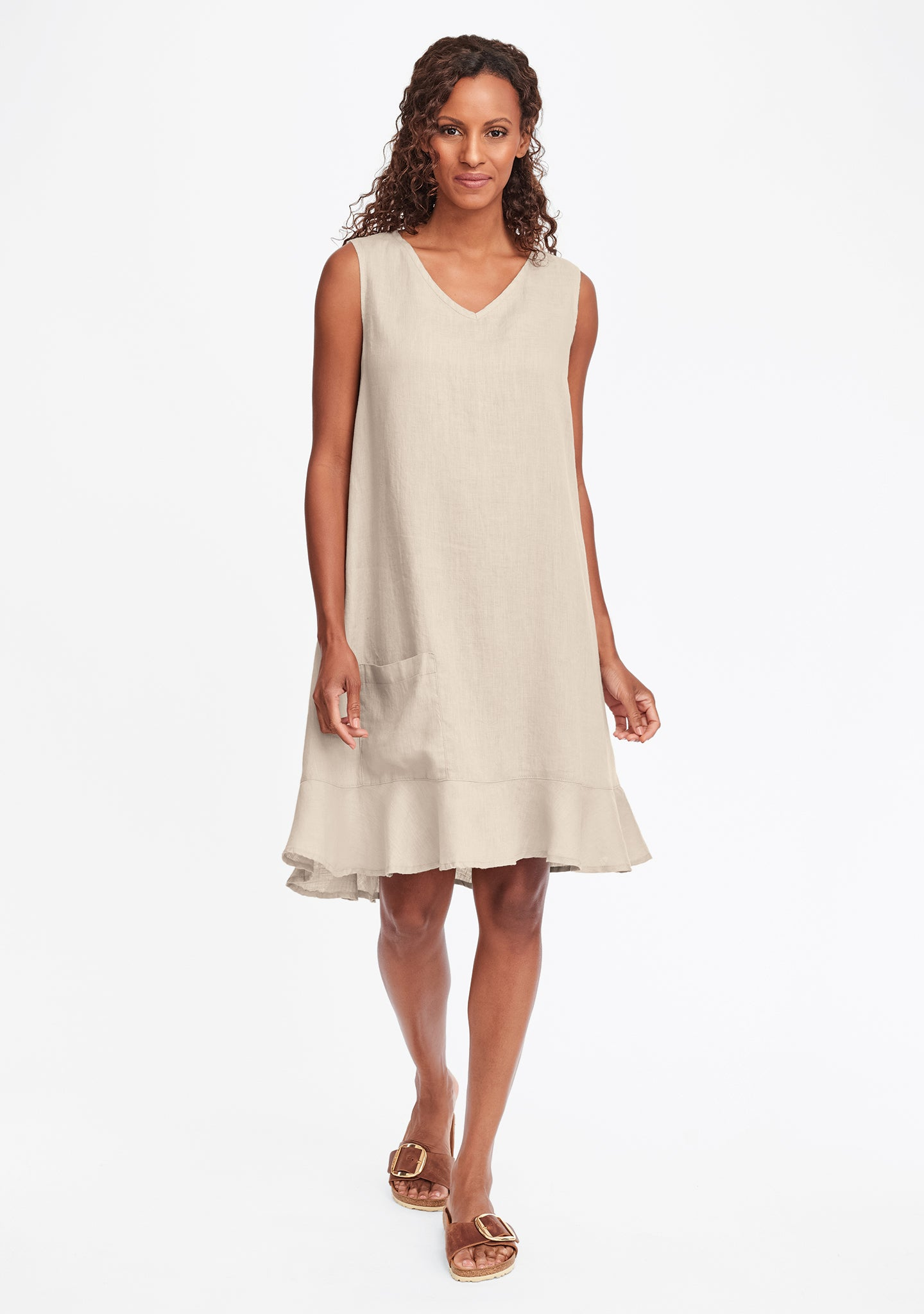 sweet dreams dress linen shift dress natural