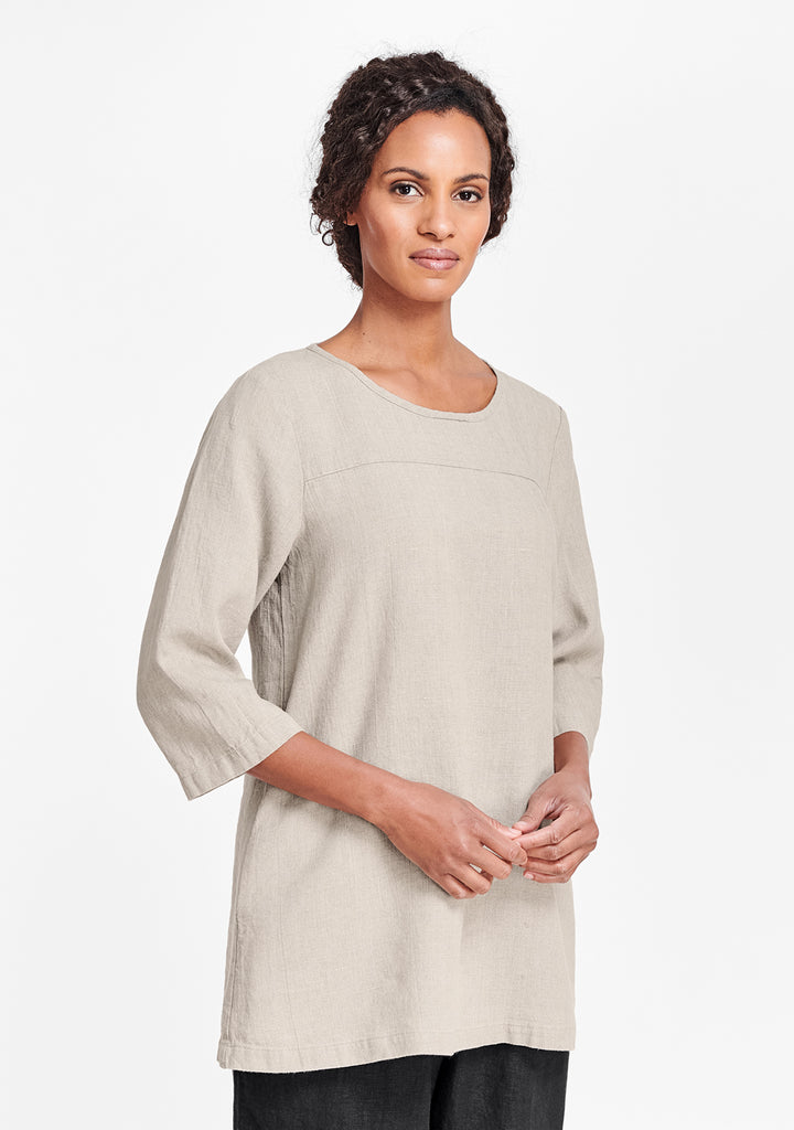 top seam tunic natural