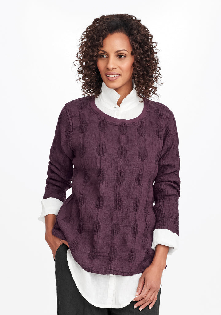 urbane pullover purple