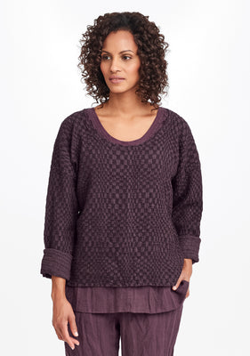 whispy pullover purple