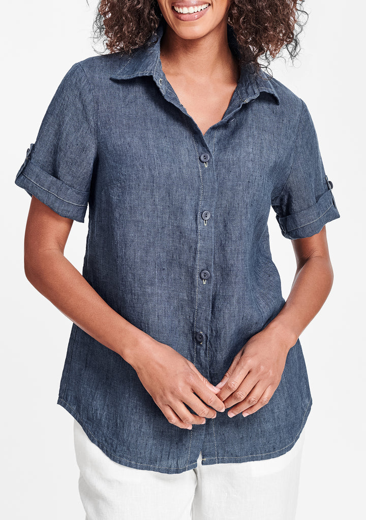 workshirt blue
