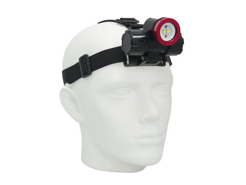 Head Light: 450-Lumen Extra-Wide Beam