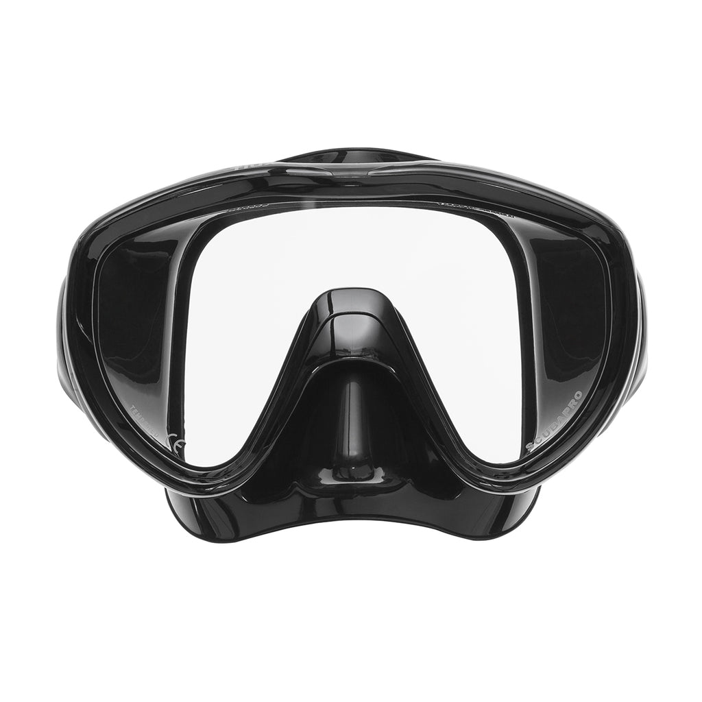 Flux Mask, Black Skirt, Black Frame