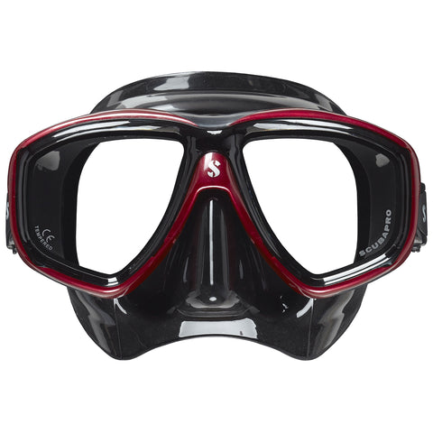 Flux Twin Mask, Black Skirt, Red Frame