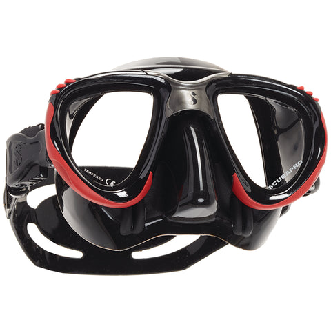 Scout Mask, Black Skirt, Red Frame