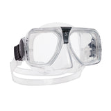 Solara Mask, Clear Skirt, Clear Frame
