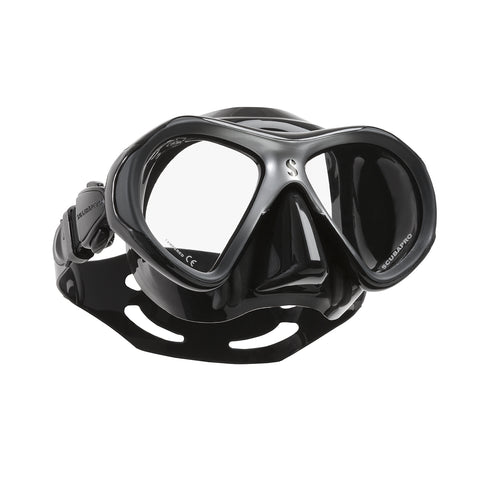 Spectra Mini Mask, Black Skirt, Silver Frame