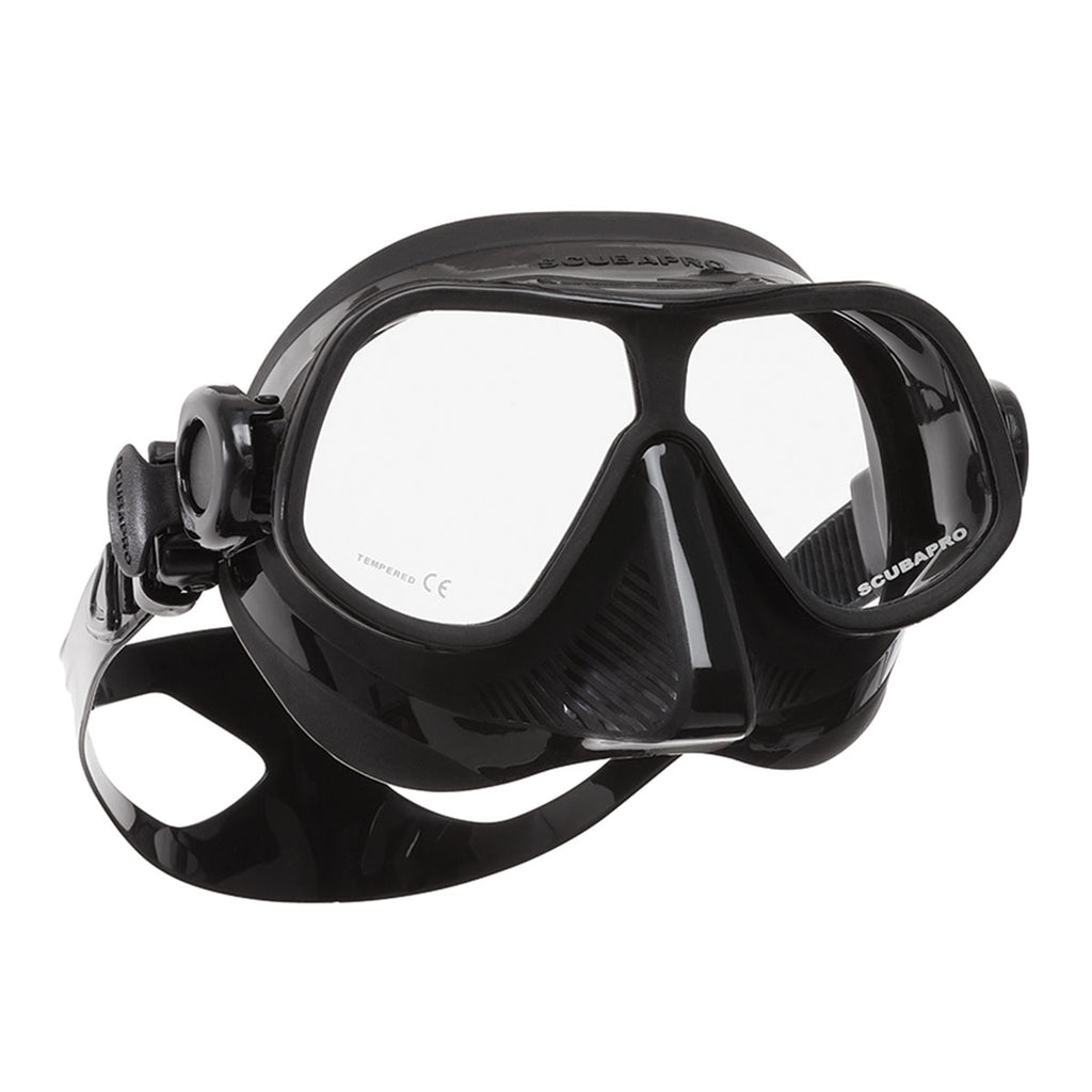 Steel Comp Mask, Black