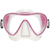 Synergy 2 Trufit Mask, Clear Skirt, Pink Frame