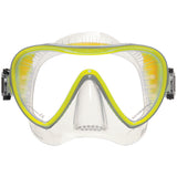 Synergy 2 Trufit Mask, Clear Skirt, Yellow Frame
