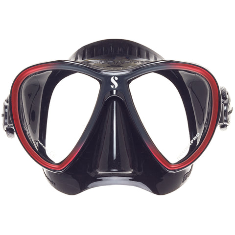 Synergy 2 Twin Trufit Mask, Black Skirt, Red Frame