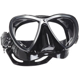 Synergy Twin Trufit Mask, Black Skirt, Silver Frame