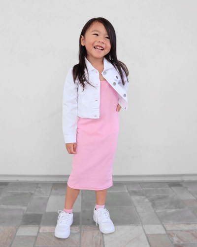 Sydney Mommy & Me Tie-Waist Jumpsuit - Snakeskin - Bailey's Blossoms