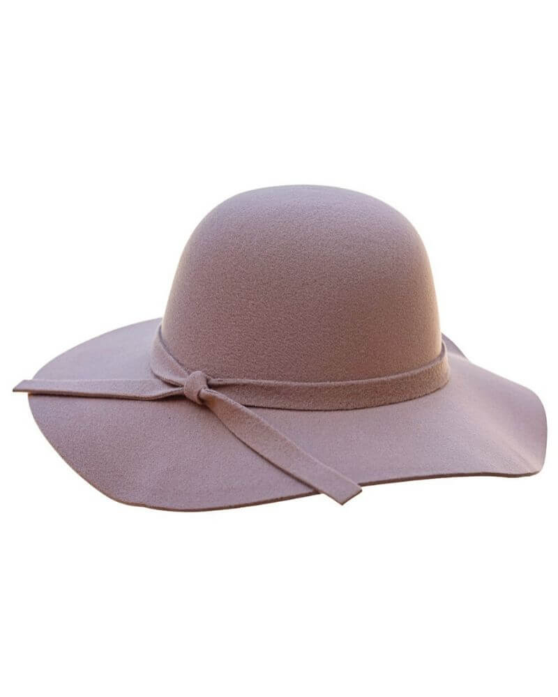 Audrey Floppy Hat - Camel - Bailey's Blossoms